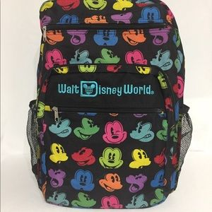 WaltDisney World Mickey Mouse Adult Teen Backpack
